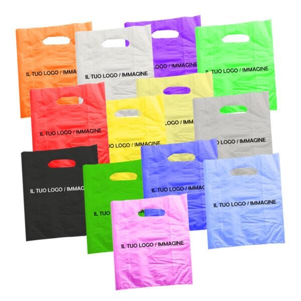 Effetto Grafico - Shopper di plastica personalizzata