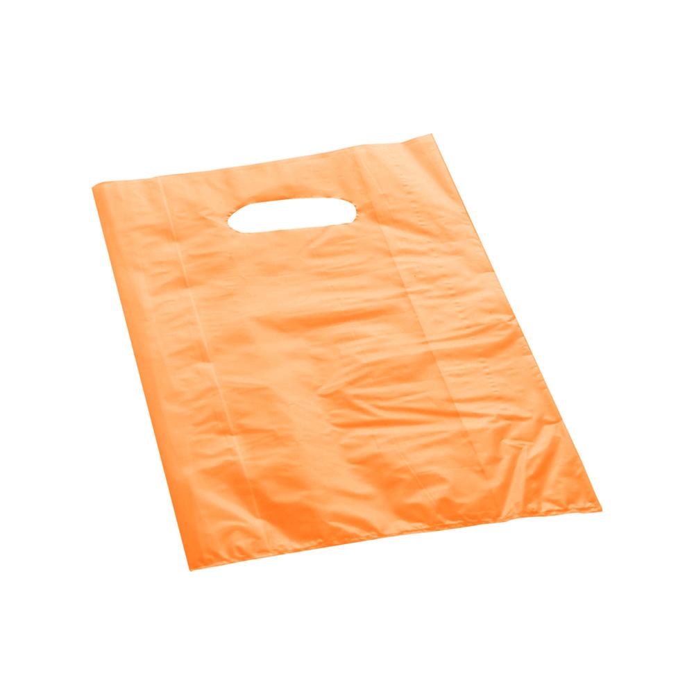 Effetto Grafico - Shopper di plastica arancio