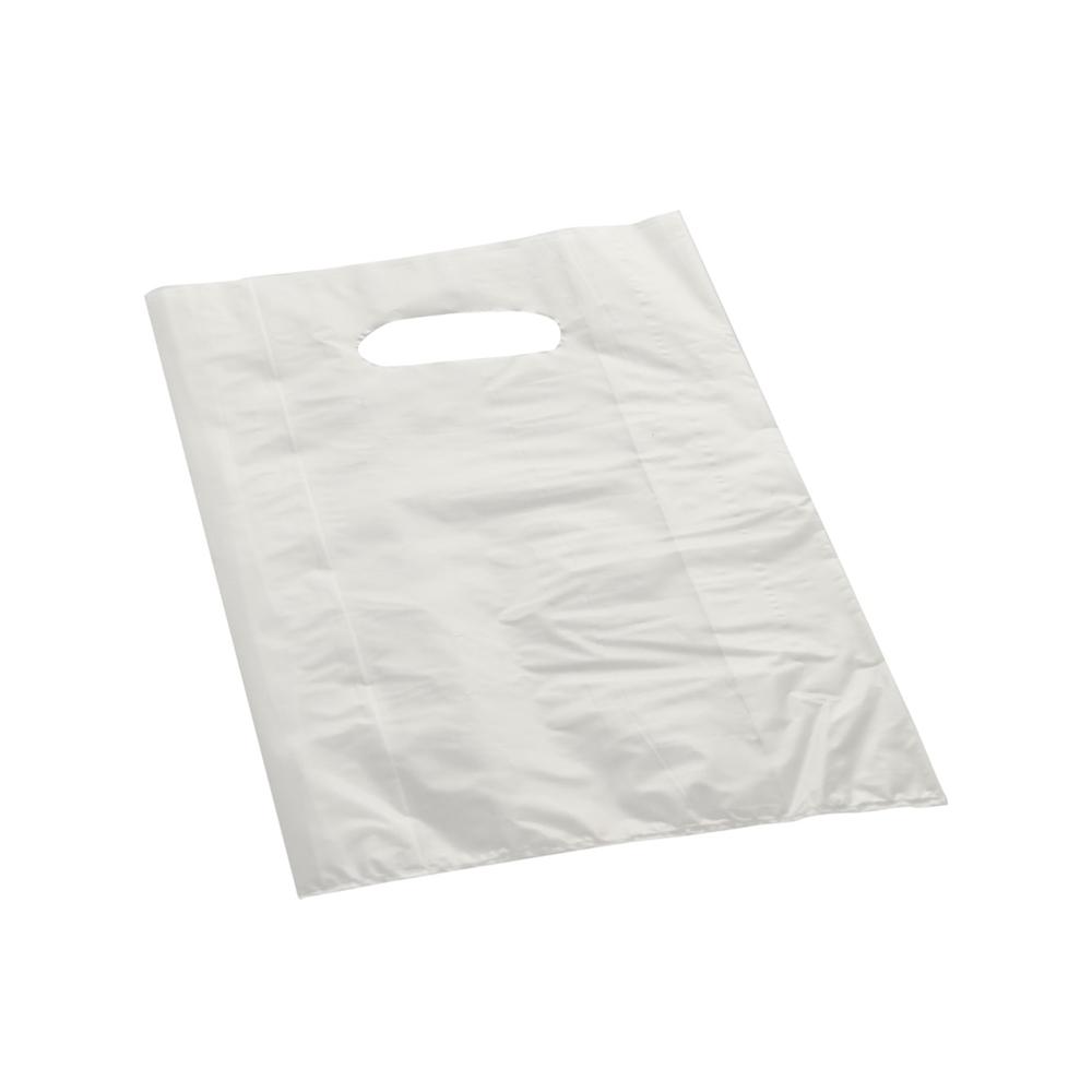 Effetto Grafico - Shopper di plastica bianca