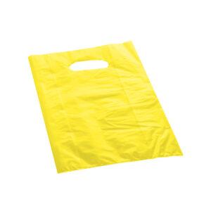 Effetto Grafico - Shopper di plastica gialla