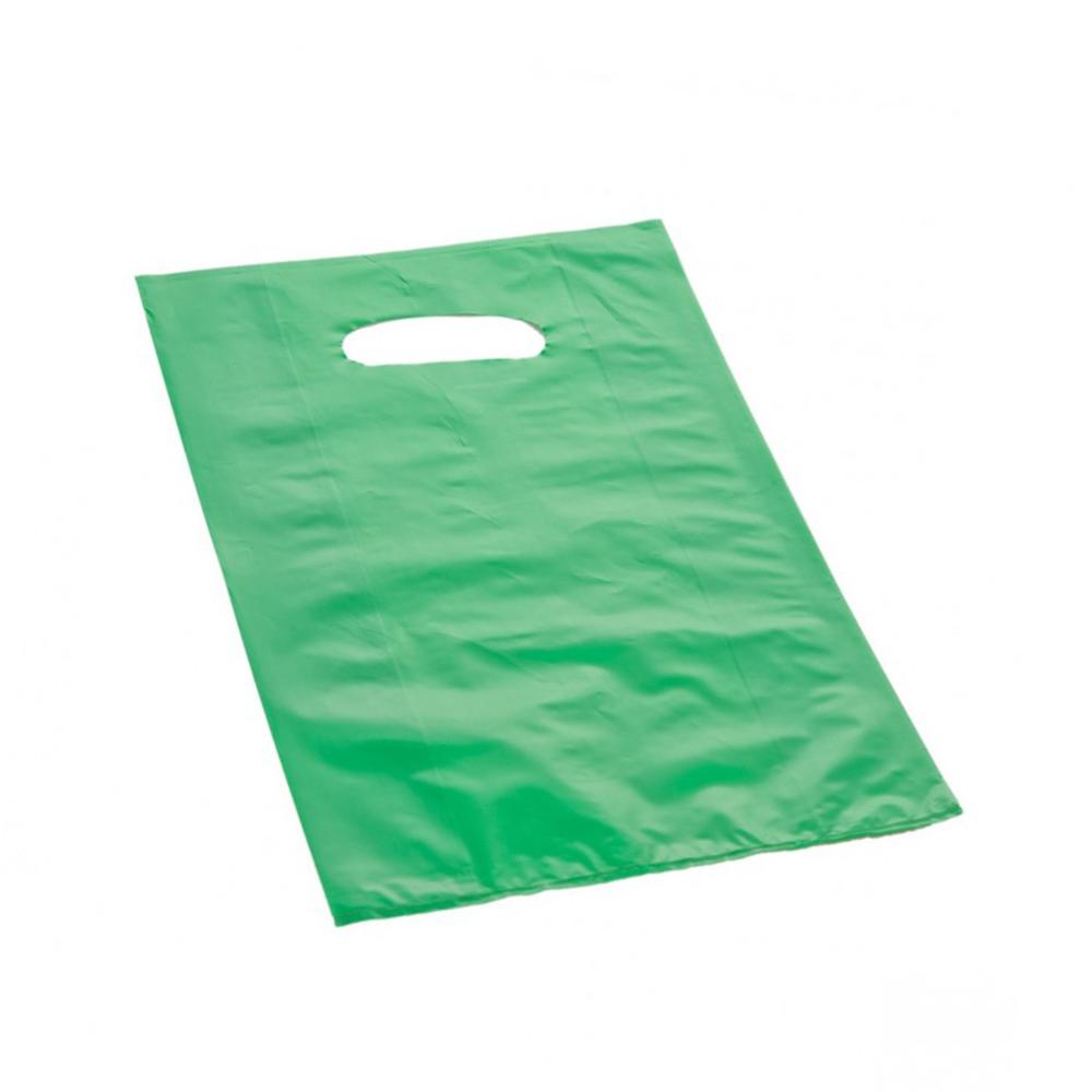 Effetto Grafico - Shopper di plastica verde